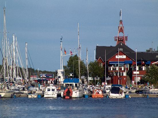 The Sandhamn Yacht Hotel: Main building