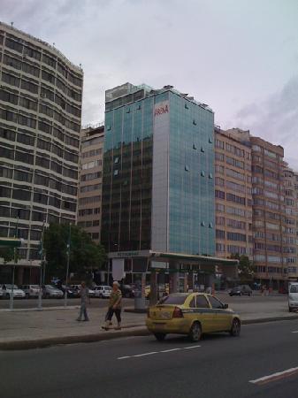 Arena Copacabana Hotel: visto da fuori