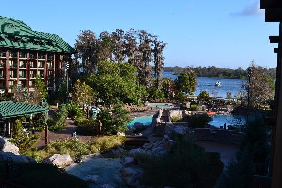 ‪‪Disney's Wilderness Lodge‬: view from our room‬