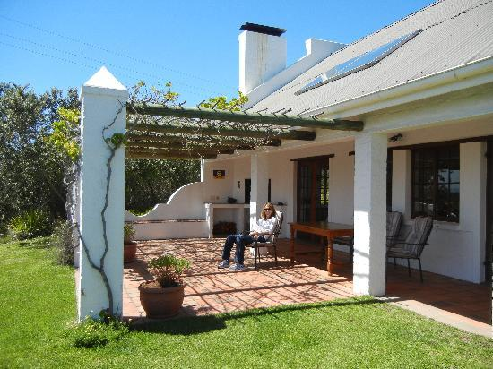 Fynbos Ridge Country House & Cottages: Gazania patio
