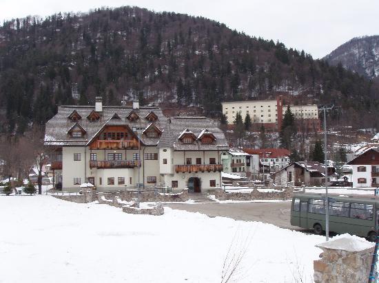 Hotel Edelhof dalla pista