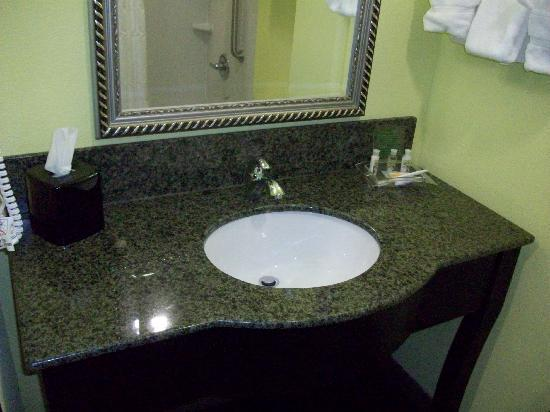 Holiday Inn Garland: bathroom sink