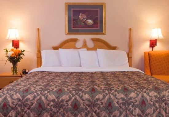 Savannah Inn: King or double queen beds.