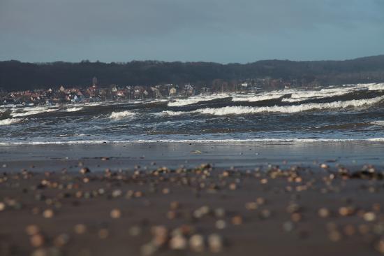 Malens Strandpensionat: Eindruck Strand