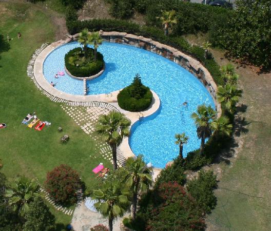 Apartamentos Benibeach: The pool