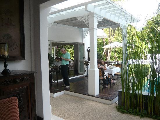 Ping Nakara Boutique Hotel & Spa: The restaurant