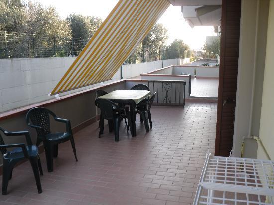 Parco La Conchiglia: terrazzo