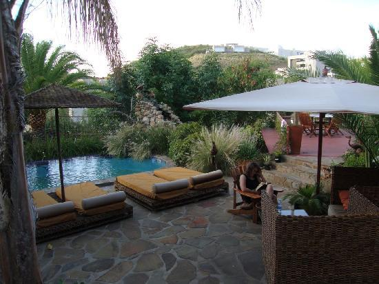 Guesthouse Terra Africa: Chilling at Terra Africa in Windhoek