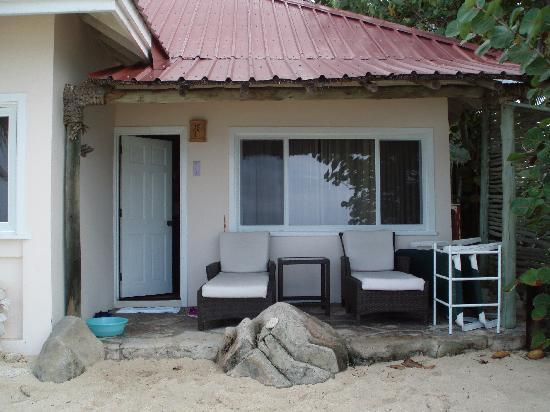 Galley Bay Resort: The back door of our superior beach front