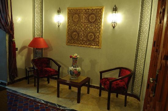 Palais Targa : Réception