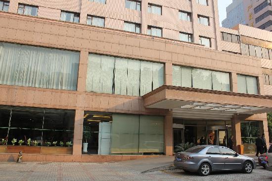 Zhongshan Hotel : ホテル入り口