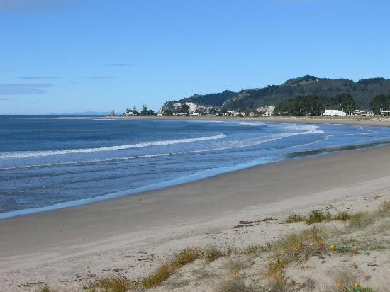 Brenton Lodge: whangamata beach