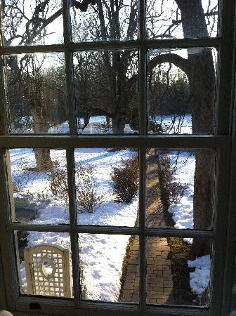 The Inn at Barley Sheaf Farm: View from our window
