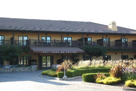 The Lodge At Sonoma Renaissance Resort Spa Front Of Hotel