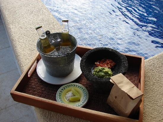Capella Ixtapa: 5 o'clock snack