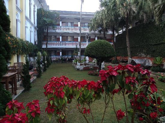 Kathmandu Guest House: internal gardens