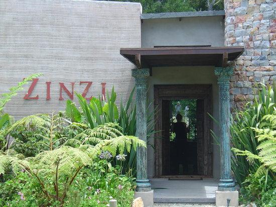 Entrance to Zinzi