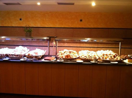 Hotel Tuc Blanc: Le buffet