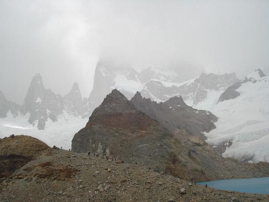 El Chalten, Argentine : vista en cumbre Cerro Fitz Roy