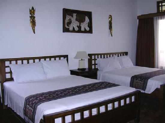 Puri Dukuh Accommodation: Family Room Upstairs