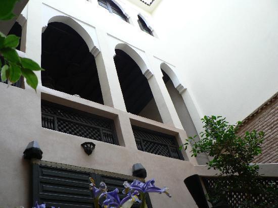Riad Dar Azul: 1er étage le coin des parties d'échecs