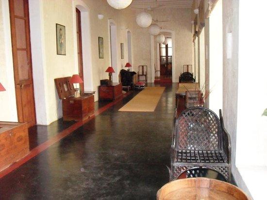 Villa Helena: le couloir