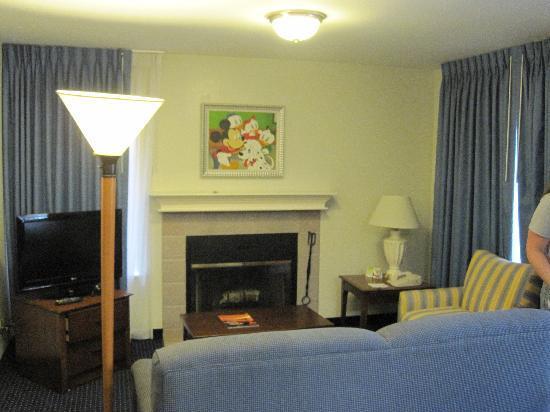 Residence Inn Anaheim Maingate: Living Room