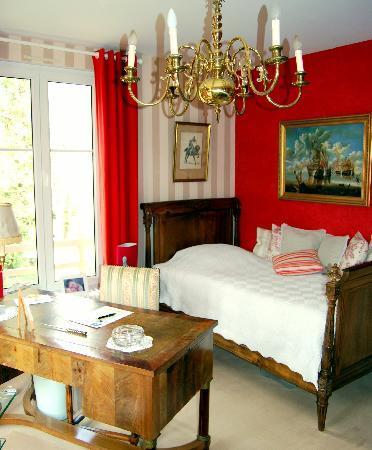 Villa Les Glaieuls: CHAMBRE COQUELICOT