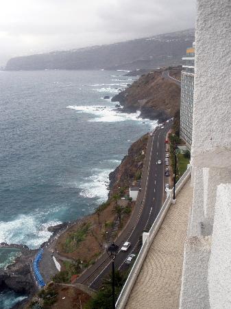 Atlantic Mirage Suites & Spa : Vista de la costa en dirección norte