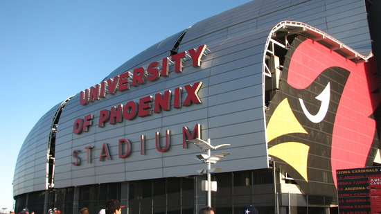 Glendale, AZ : University of Phoenix Stadium