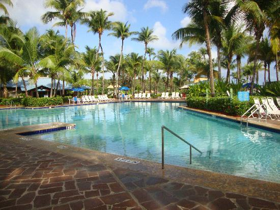 Hyatt Hacienda Del Mar: The main pool- also a couple hot tubs are available. Off to the left is a common area building,