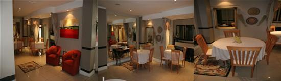 Centurion All Suite Hotel: reception and coffee shop