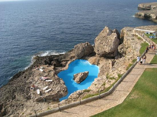 Origami picture of aparthotel roc las rocas cala d 39 or for Piscine naturelle