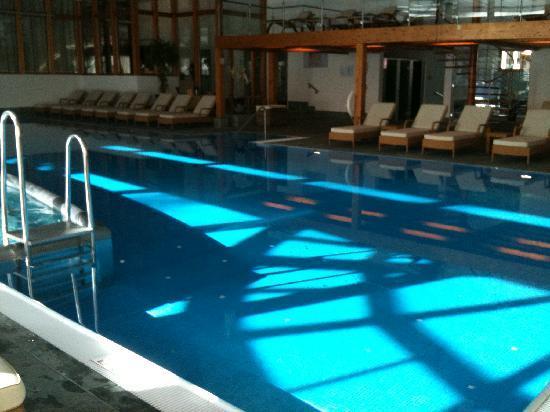 Hotel Mont Cervin Palace: piscine intérieure