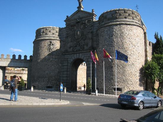 Hotel Abad Toledo : Entrada a Toledo