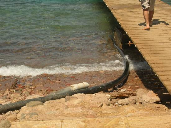 Coral Bay: IL TUBO DI COSA? FINISCE IN MARE!!!