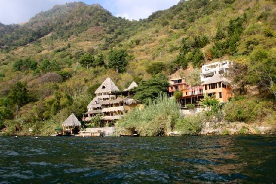 Laguna Lodge Eco-Resort & Nature Reserve: view from the lake