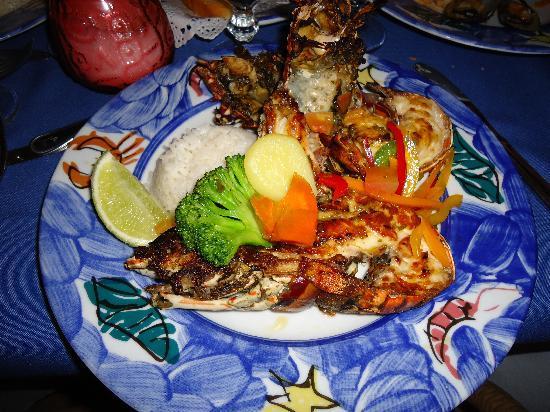 Caribe Club Princess Beach Resort & Spa: très bon le restaurant de fruit de mer $