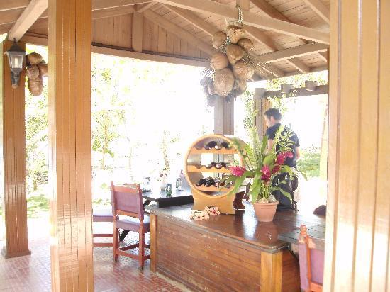 Villa Maguana: restaurante