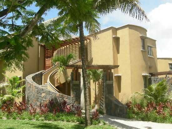 Trou aux Biches Beachcomber Golf Resort & Spa: vue arriere des suites