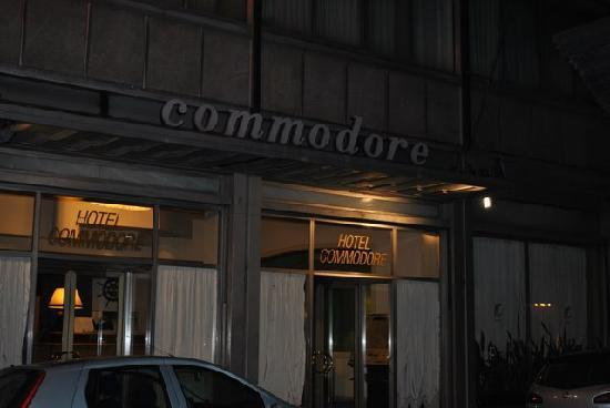 Hotel Commodore Roma : Eingang