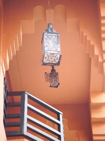 Hotel Riu Tikida Garden: lanterns - everywhere - beautiful..