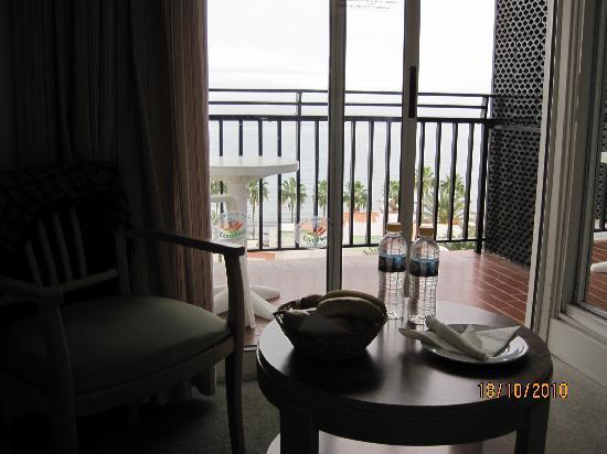Beverly Park Hotel : Detalle de bienvenida