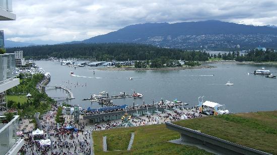 Fairmont Pacific Rim: Stanley Park vu de la chambre