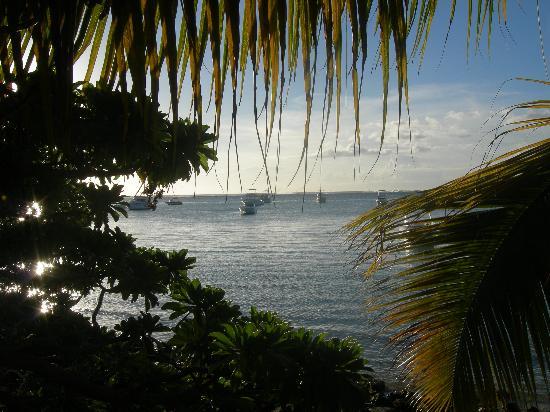 Paradis Beachcomber Golf Resort & Spa : vue le soir