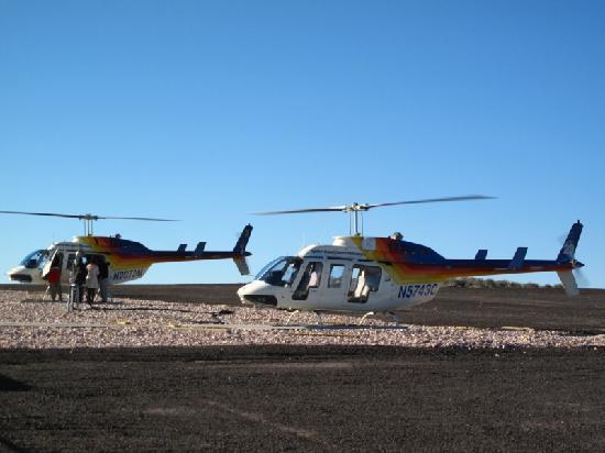 Colorado River & Trail Expeditions: Pista de helicopteros