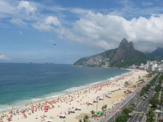 Sol Ipanema Hotel: View from our room