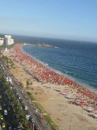 Sol Ipanema Hotel: View from the roof