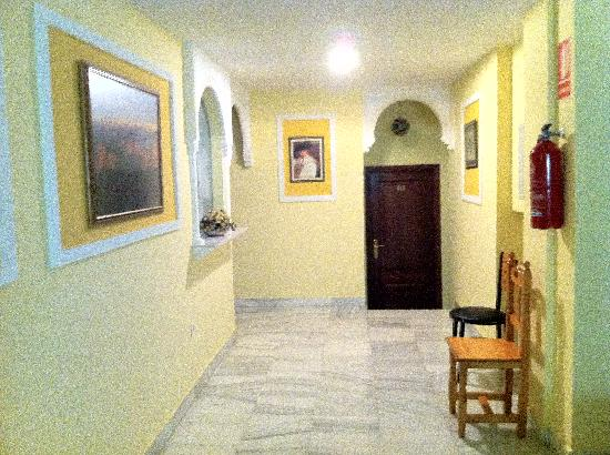 Albero: Pasillo interior