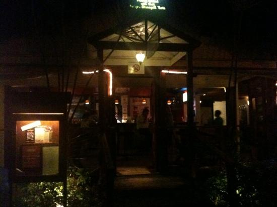 Elbow Room at night